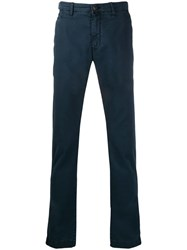 Jacob Cohen Flared Style Trousers Blue