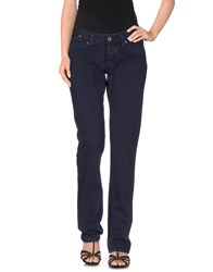 Met Denim Denim Trousers Women Dark Blue