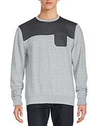 Sovereign Code Holgun Colorblock T Shirt Charcoal