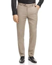 Brooks Brothers Houndstooth Slim Fit Chino Pants Beige