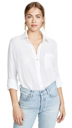 Rails Ellis Button Down Shirt White