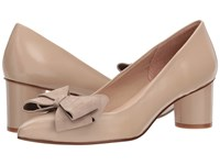 French Sole Bard Natural Nappa Suede Shoes Beige