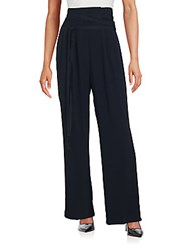 Marc Jacobs Solid Wide Leg Trousers Black