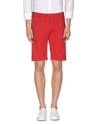 Aspesi Trousers Bermuda Shorts Men Red