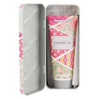 Heathcote And Ivory Vintage Fabric Flowers Hand Cream In Tin 100Ml