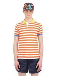 Invicta Striped Cotton Polo Shirt
