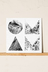 Urban Outfitters Of Monsters And Men Beneath The Skin Lp Black