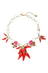Kate Spade Women's New York Pepper Statement Necklace Multi