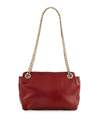 Boyy Paco Napa Leather Shoulder Bag Carnelian