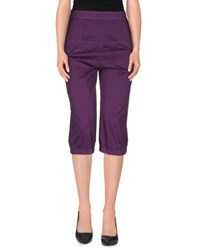 Pianurastudio Trousers 3 4 Length Trousers Women