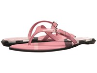 Burberry Meadow Berry Pink Women's Sandals Red