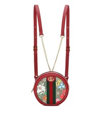 Gucci Ophidia Gg Flora Backpack Red