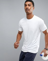 Perry Ellis 360 Sports T Shirt In White Bright White