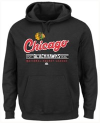 Majestic Men's Chicago Blackhawks Intense Defense Hoodie