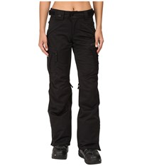 686 Authentic Smarty Cargo Pant Black 1 Women's Outerwear