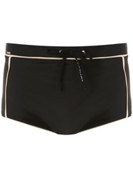 Amir Slama Plain Trunks Black