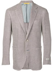Canali Classic Formal Blazer Brown