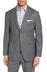 Jkt New York Men's Trim Fit Check Wool And Cotton Sport Coat