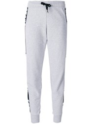 Versus Logo Sweatpants Cotton Grey