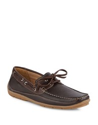 Kenneth Cole On The List Boat Shoes Cognacbrown