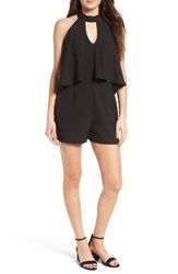 Secret Charm Women's As You Wish Popover Halter Romper