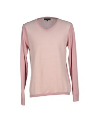 Guess By Marciano Knitwear Jumpers Men Pastel Pink
