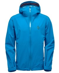 Black Diamond Stormline Stretch Rain Shell Jacket From Eastern Mountain Sports Kingfisher