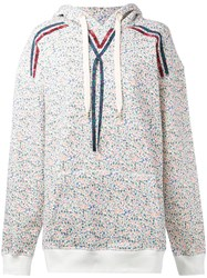 Hilfiger Collection Oversized Floral Hoodie Women Cotton Polyester Xs