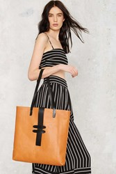 Nasty Gal After Party Vintage Forecast The Leather Tote