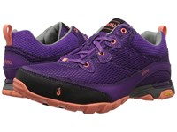 Ahnu Sugarpine Air Mesh Bright Plum Women's Shoes Red