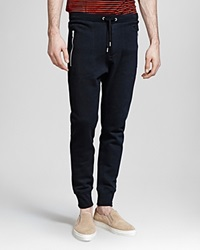 The Kooples Soft Fleece Sweatpants Black