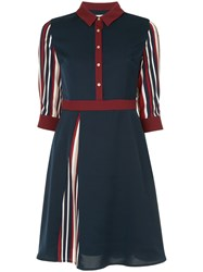 Guild Prime Panel Shirt Dress Blue