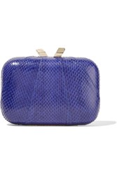 Kotur Morley Elaphe Clutch Blue