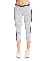 Andrew Marc New York Space Dyed Cropped Leggings Pebble