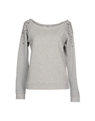 Blugirl Blumarine Sweatshirts Light Grey
