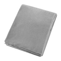 Zoeppritz Since 1828 Soft Fleece Blanket Light Grey