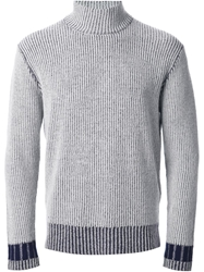 Adidas Slvr Rib Knit Sweater Grey