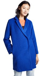 Suncoo Eugenie Coat Blue Klein