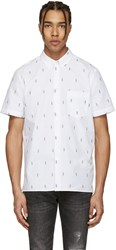 Paul Smith Ps By White Mini Parrots Shirt