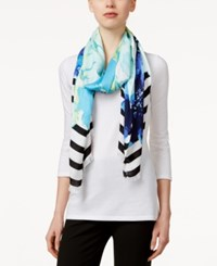 Inc International Concepts Printed Pashmina Wrap Only At Macy's Blue
