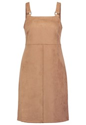 Dorothy Perkins Sudette Summer Dress Brown