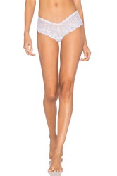 Les Coquines Evi Lace Cheeky White
