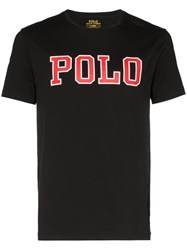 Polo Ralph Lauren Logo Printed T Shirt Black