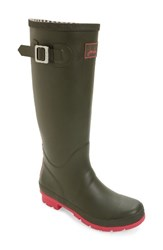 Joules Women's 'Field Welly' Rain Boot Deep Camouflage