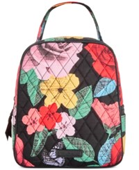 Vera Bradley Signature Lunch Tote Havana Rose