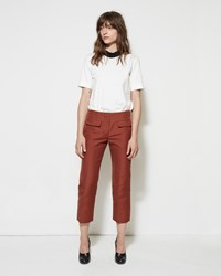 Marni Cropped Cady Trouser