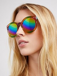 Free People Double Rainbow Sunglasses By