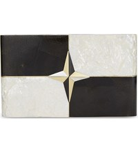 Nathalie Trad Dimitri Clutch Mother Of Pearl Shell