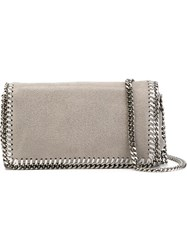 Stella Mccartney 'Falabella' Crossbody Bag Grey