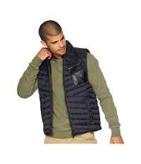 Members Only Down Blend Quilted Puffer Vest Black